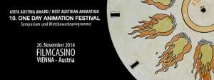 10. One Day Animation Festival am 20.11.2014 in Wien