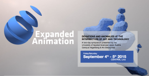 Expanded Animation | 4./5.09.2015 | Linz