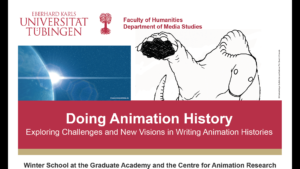 "Winter School ""Doing Animation History"" 