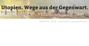 CfP zur GfM-Jahrestagung in Bayreuth | Deadline: 15.02.2015