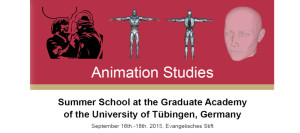Animation Studies Summer School | 16.-18.09.2015 | Tübingen